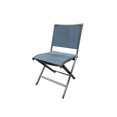 Chaise Ara bleu chiné