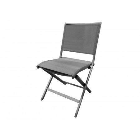 Chaise de jardin Ara anthracite