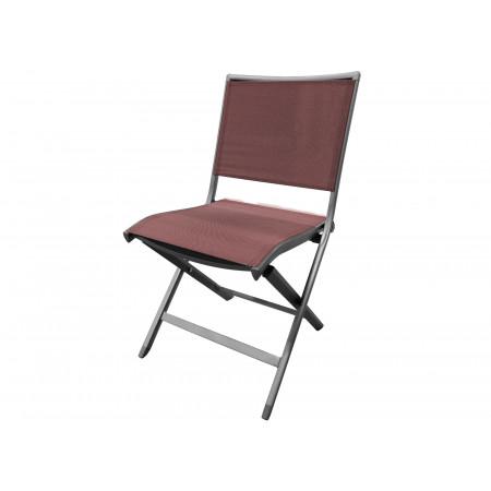 Chaise de jardin Ara rouge chiné
