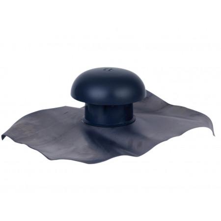 Chapeau de ventilation D100 Gris