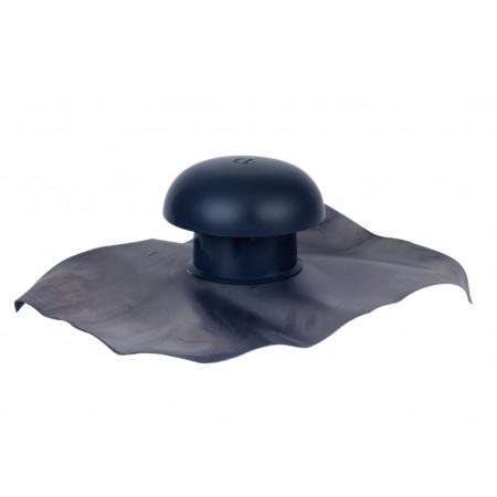 Chapeau de ventilation D80 Gris