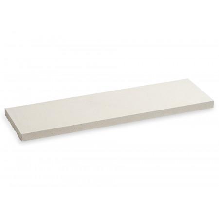 Chaperon de mur plat 100x25cm blanc