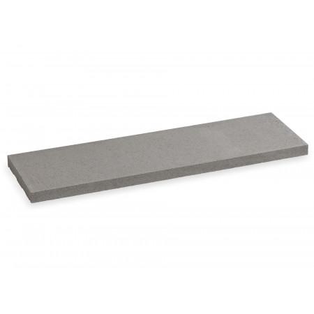 Chaperon de mur plat 100x25cm gris