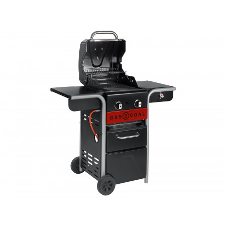 Barbecue hybride Char-Broil® Gas2Coal® 2.0 2 brûleurs