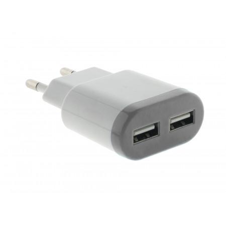 Chargeur 2 prises USB 2A