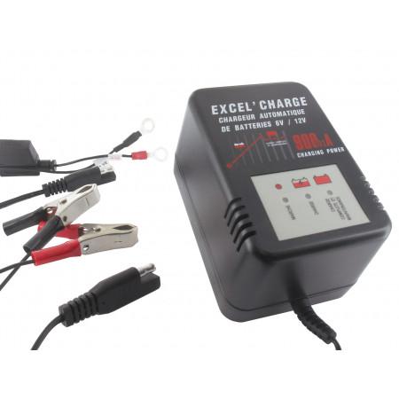 Chargeur automatique de batteries 6V/12V