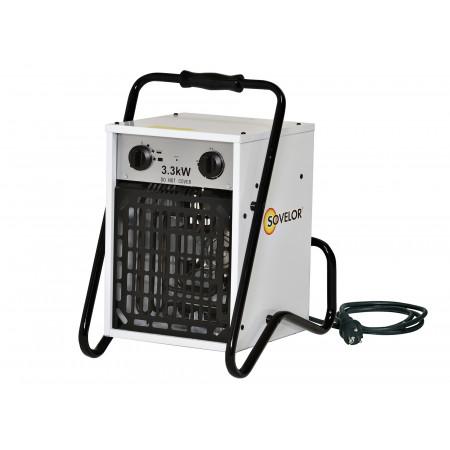 Chauffage air pulsé portable 230V SOVELOR