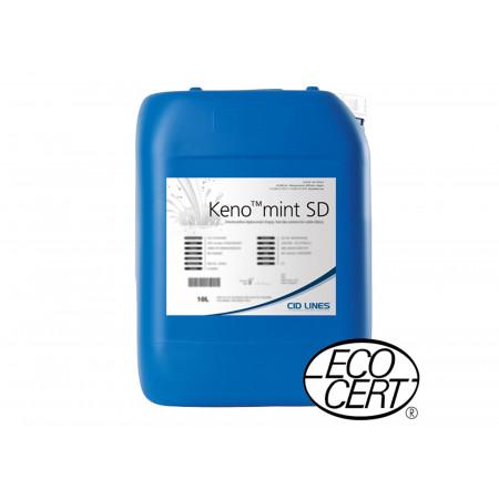 Chlorhexidine pulvérisable après la traite