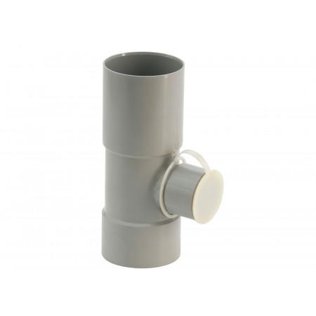 Collecteur d'eau de pluie Ø80/50 Gris