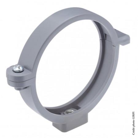 Collier à insert PVC 7x150 Ø100 Ardoise