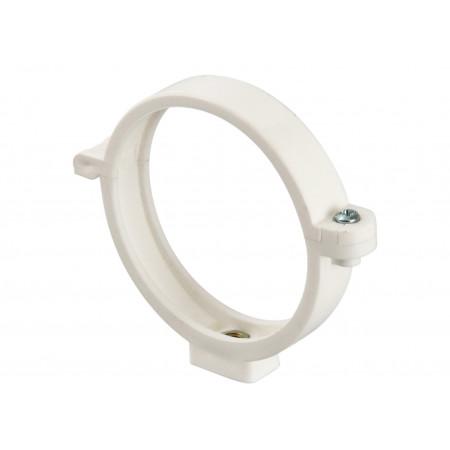 Collier à insert PVC 7x150 Ø80 Blanc