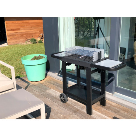 Barbecue charbon Cook'In Garden Isy Fonte 60