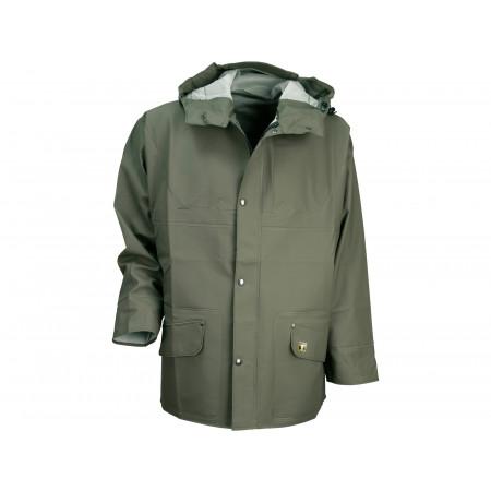 Veste de pluie à capuche T 2XL
