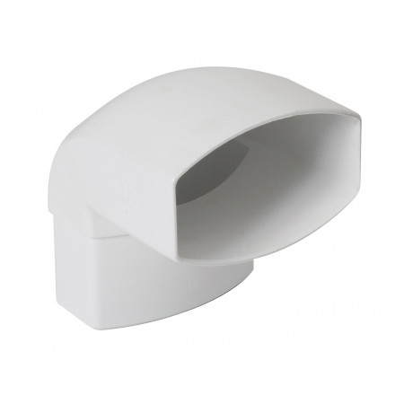 Coude 87°30 Ondella Mâle / Femelle Blanc