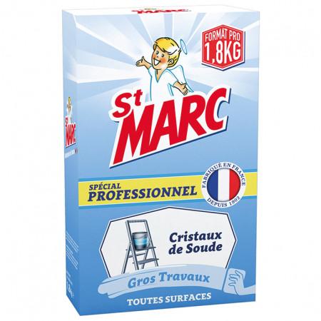 Cristaux de soude professionnel 1,8kg ST MARC