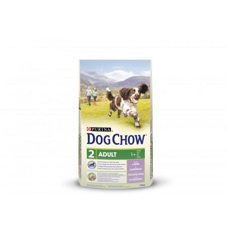 Croquettes chien adulte DOG CHOW agneau 14kg