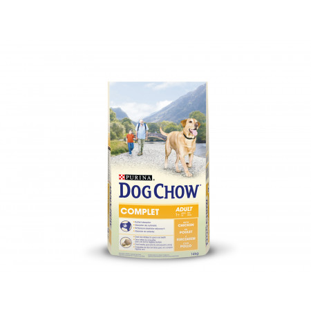 Croquettes chien adulte DOG CHOW Complet 14kg