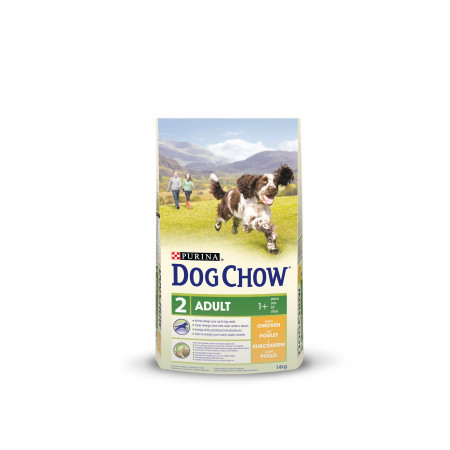 Croquettes chien adulte DOG CHOW poulet 14kg