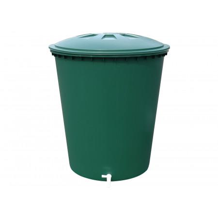 Cuve à eau cylindrique 210L vert GARANTIA