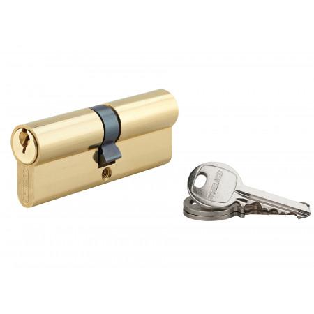 Cylindre de serrure 40x40 laiton