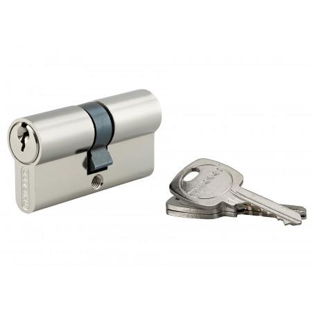 Cylindre de serrure STD 30x30 clés laiton