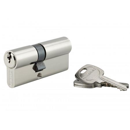 Cylindre de serrure STD 30x40 nickelé