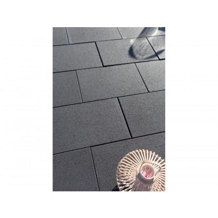 Dalle béton lisse gris ardoise 60x40