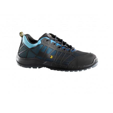 Chaussure de sécurité basse Nox S3 bleu/noir