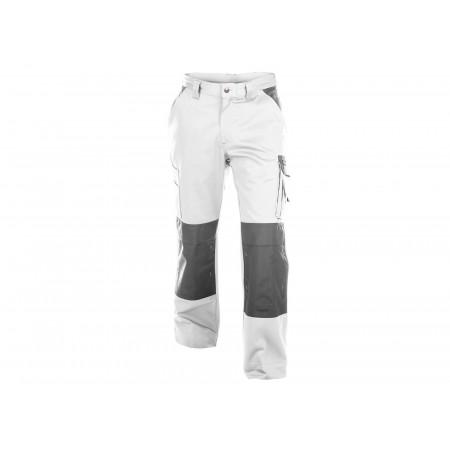 Pantalon de travail Boston blanc/gris