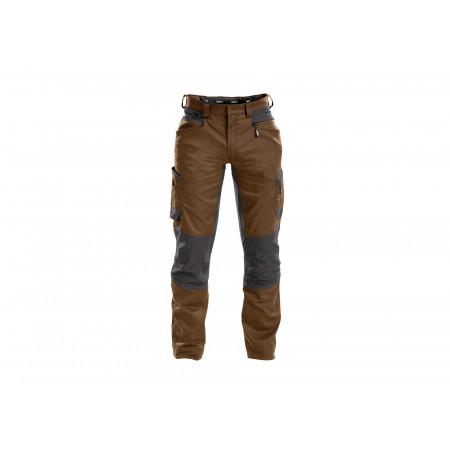 Pantalon de travail Helix camel/gris