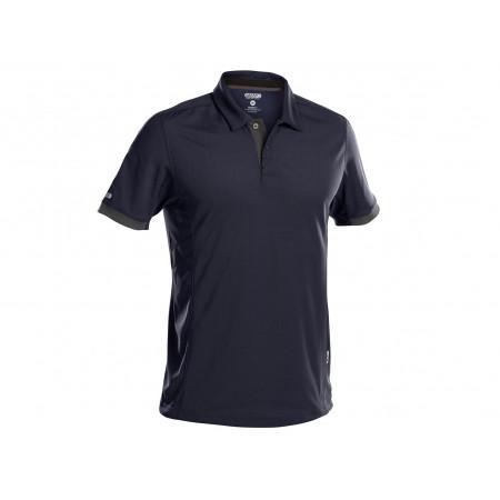 Polo DASSY® Traxion marine/gris