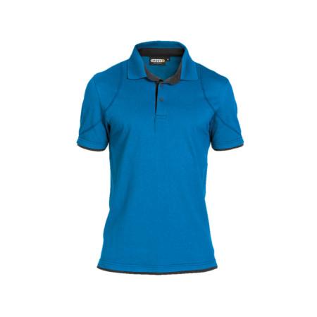 Polo homme DASSY® Orbital Bleu/gris
