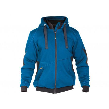 Sweat shirt à capuche Pulse bleu/gris
