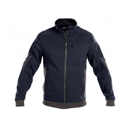 Sweat-shirt  DASSY® Velox marine/gris