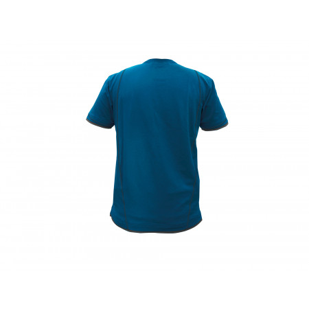 T-shirt DASSY® Kinetic bleu/gris