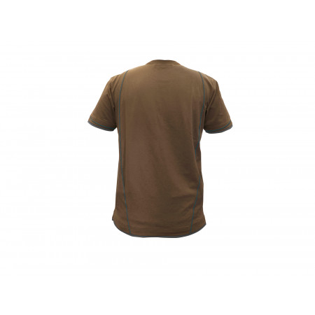 T-shirt DASSY® Kinetic camel/gris