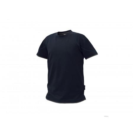 T-shirt DASSY® Kinetic marine/gris