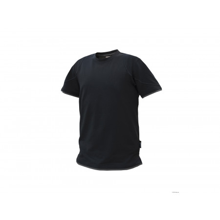 T-shirt DASSY® Kinetic noir/gris