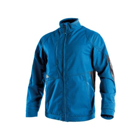 Veste coupe-vent DASSY® Atom Bleu/gris