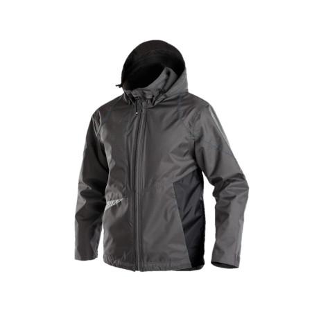 Veste de travail hiver DASSY® Hyper Gris/noir