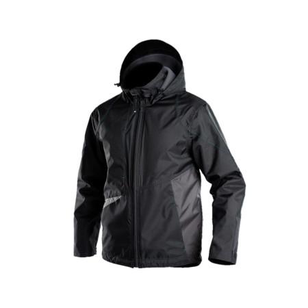 Veste de travail hiver DASSY® Hyper Noir/gris