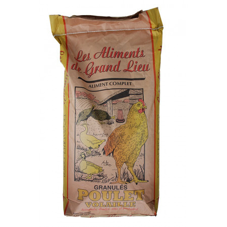 Aliment poulet volaille complet 25kg