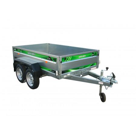 Remorque 2 essieux 3,27m PTAC 750kg DAXARA 239X4