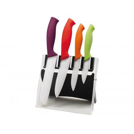 Présentoir 4 couteaux céramique DEGLON
