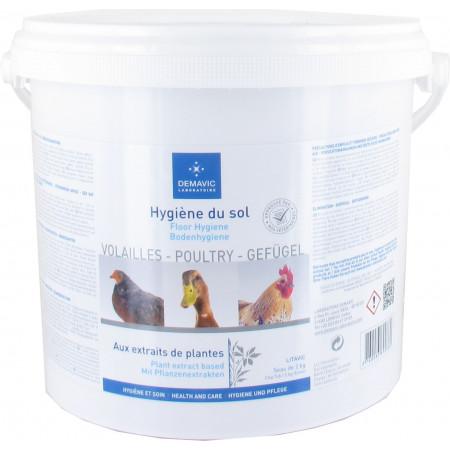 Hygiène du sol basse-cour Demavic 2kg