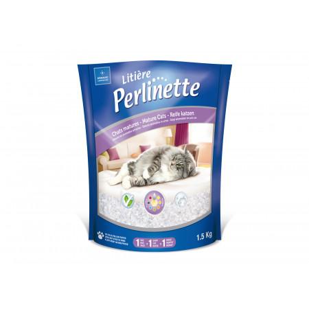 Litière Perlinette chat mature Demavic 1,5kg