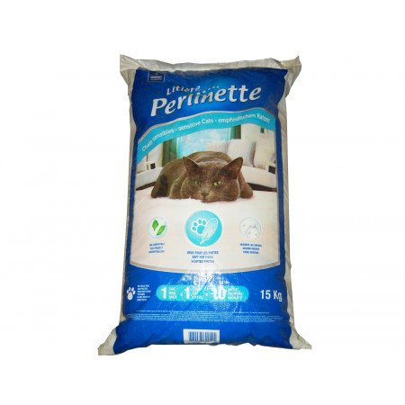 Litière Perlinette chats et NAC Demavic 15kg