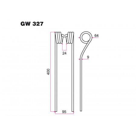 Dent faneur DAROS GW 327