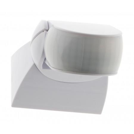 Détecteur de mouvement orientable extra plat blanc