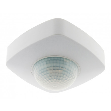 Détecteur de mouvement plafond en saillie blanc